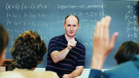 question aux élèves de maths