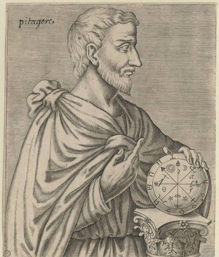 Pythagore, philosophe et mathematicien grec