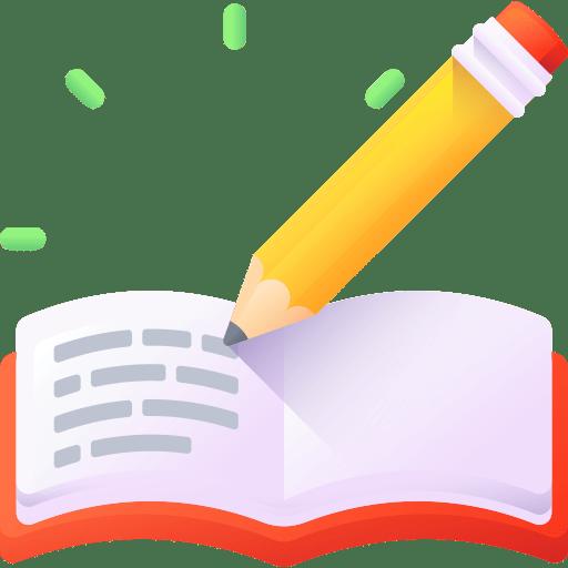 livre et crayon