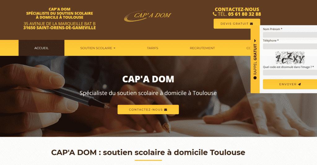 spécialiste soutien scolaire à domicile Toulouse