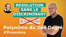 vignette 2nd degre sans discriminant
