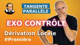 tangente parallele derive locale