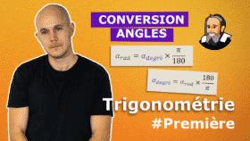 trigo convertir angle radian degre