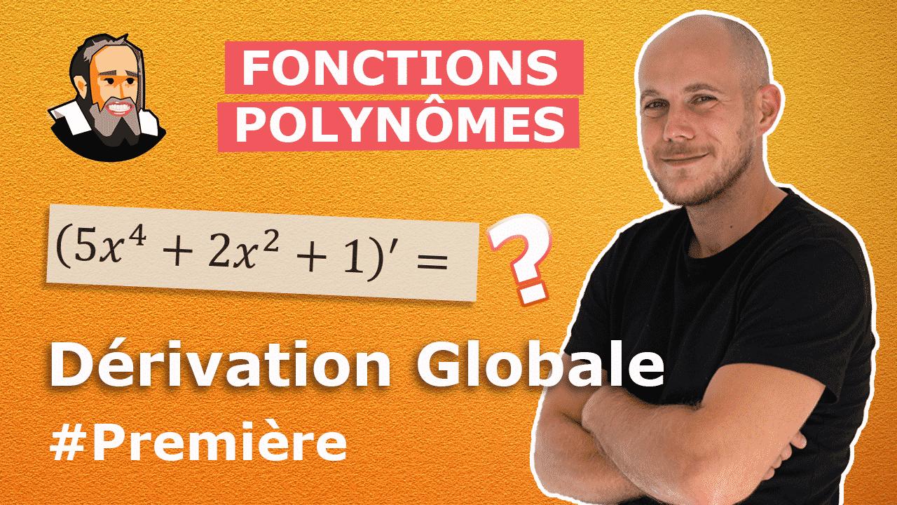 fonctions dérivées polynome