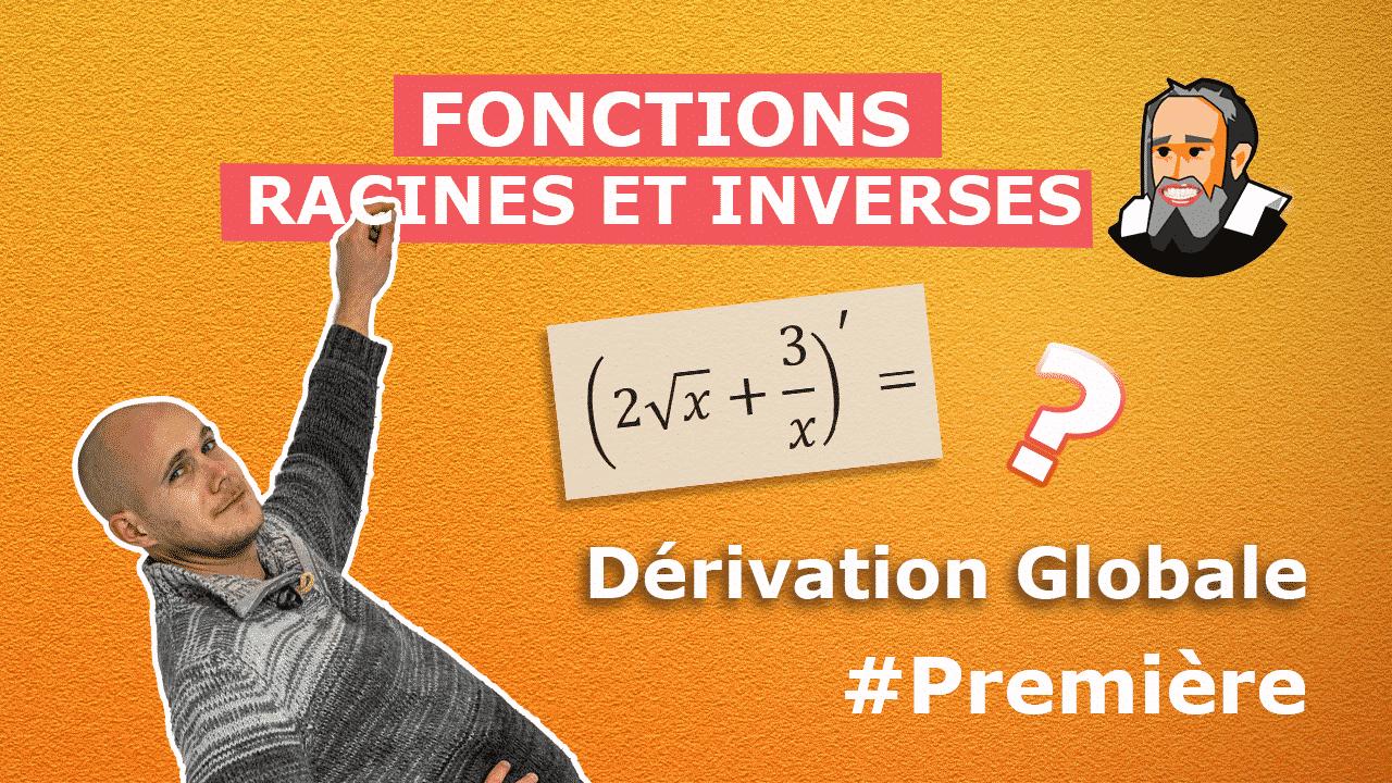 fonctions dérivées racine inverses