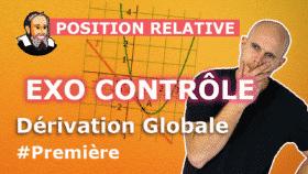 controle derivation globale position relative